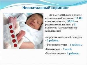 Неонатальный скрининг новорожденных: как проводится?