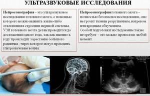 УЗИ головного мозга у грудничка и новорожденных детей: нормы, расшифровка