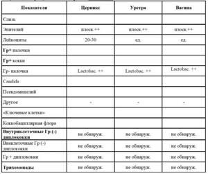 Расшифровка мазка на флору: норма показателей и возможные заболевания